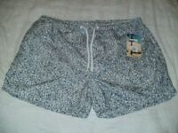2 PAIRS BRAND NEW MENS SWIMSHORTS SIZE L