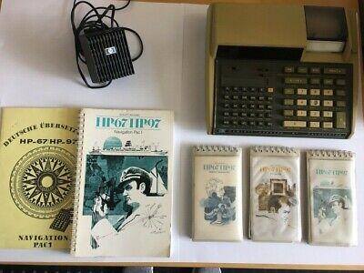 HP-97-Hewlett-Packard-Taschencomputer Calculator