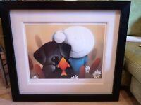 Doug Hyde Limited Edition Giclee Print Framed