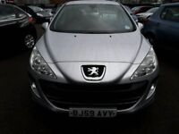 59 plate PEUGEOT 308 1.4S 5DR ONLY 66K WITH AIR CON