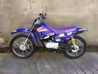 BRAND NEW IN CRATE SUZUKI MX100 kids moto x bikes crf100 Uk delivery