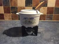 Cute fondue set