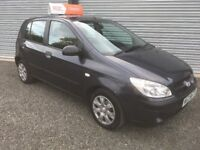 2007 HYUNDIA GETZ 1.1 FULL YEARS MOT LOW INSURANCE GROUP 75000 MILES CREDIT & DEBIT CARDS WELCOME