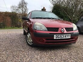 RENAULT CLIO 1.2 EXPRESSION 16V RED 2003