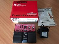 BOSS RC-30 Loop Station (New Condition; with BOSS power adaptor)