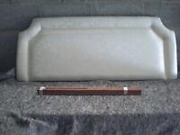 Headboard for standard width double bed