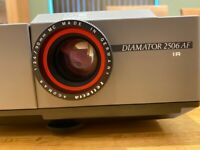 Reflecta Diamator - 2506AF- IR - 35mm Slide Projector & Braun Photo Technik Bag