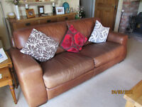 """High Quality """"Sofitalia"""" Leather Sofa"""
