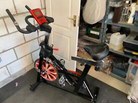Spin bike exercise bike