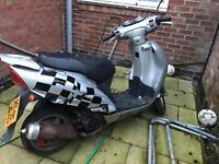 125cc sym euro mx
