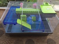 very good hamster cage for sale needs a quick clean but apart from that in great condition