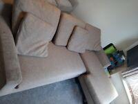 Dwell Ankara 3 seater Sofa in good condition - £150