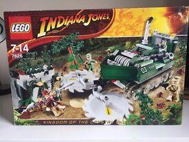 LEGO Set 7626: Indiana Jones Jungle Cutter