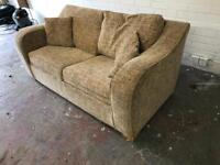 Fabric Double Sofa Bed*DELIVERY*