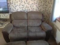 Free free free two two seater reclining sofas.
