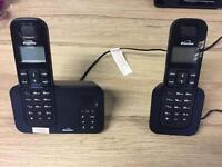 2 cordless home/office phones