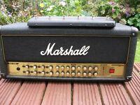 Marshll AVT 150 amplifier head,