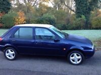 FORD FIESTA GHIA X (TOP OF THE RANGE) MOT AND EXTENSIVE SERVICE HITORY-ALLOYS AIR CON CD PLAYER