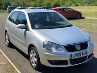 Volkswagen Polo 1.2 Match 5dr, 3 Months Warranty, Service History, 1 P Owner, 1 Year MOT, 2 Keys
