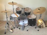 Drum Kit Pearl Vision VBL + Zildjian S390 Cymbals