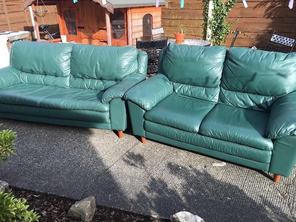 Mint Green Leather Sofa Forest Green Sofa Sofas Couches