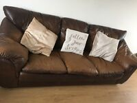 Sofa FREE 3 and 2 seater leather sofas free!!