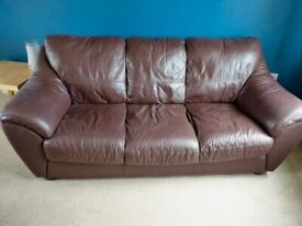 Forme Leather Sofa and Armchair - FREE