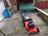 champion lorn mower in working order 3.5 hp