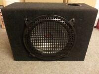 """Kenwood 12"""" Sub Woofer in Ported Box"""