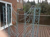 Decorative Gustav garden gates - Brand new