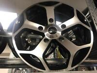"""4 18"""" alloy wheels alloys rims tyre tyres ford transit 5x160 commercial"""