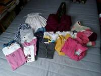 Girls clothing bundle age 4 *Over 20 items* includes Boden, Debenhams, M&S