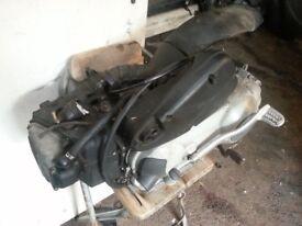 piaggio vespa et4 lx 125cc ENGINE working perfectly