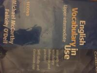 English vocabulary in use book for sale