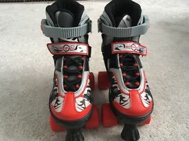Quad roller skate - Senhai size 1-3 adjustable