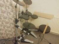 Electronic Drumkit with Stool & Drumsticks included