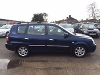 For Sale kia Carens crdi LE in superb condition inside and out MOT utill august 17 £595 ovno
