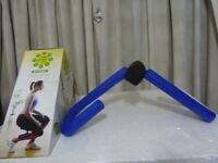 With Box Thigh Toner Shapes & firms tightens buttocks trims arms and chest firms outer inner thighs