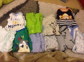 Baby boy sleep suit bundle newborn