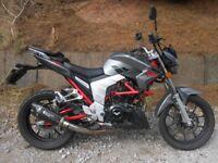 Lexmoto Venom 2016 125cc clean good motorbike