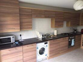 Kitchen cupboard doors and handles