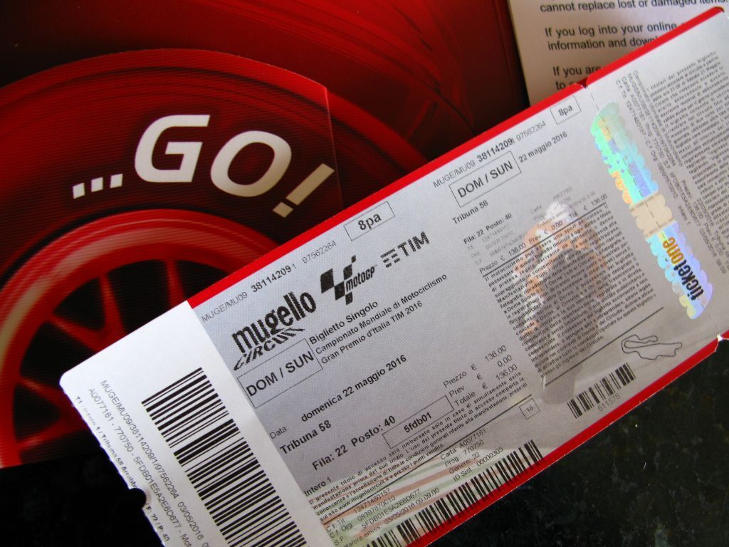 Italian MotoGP - Moto GP - Mugello May 22 2016 - Arrabiatta Grandstand ticket | in Wimborne ...