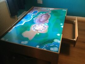 CHildren's play table (80cmx20cm). Bought as a train table