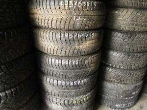 195/65R15 SET OF 4 USED MICHELIN SNOW TIRES