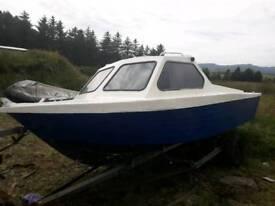 Boat fiber glass