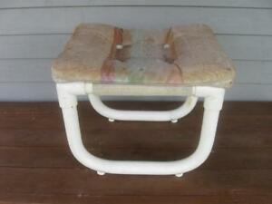 Tubular indoor out door deck stool