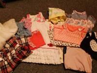 Large Bundle Of Girls clothes 12-18 momths