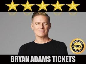 Discounted Bryan Adams Tickets | Last Minute Delivery Guaranteed!