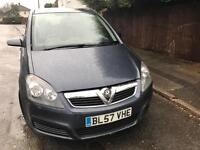Vauxhall ZAFIRA 1.6 2008 7 seater **PRICE REDUCED