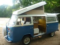 VW Bay Window Camper T2 Westfalia RHD Fully Restored